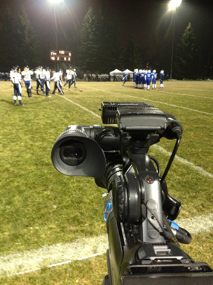 iMediaTV.ca at the Central Alberta highschool football finals...