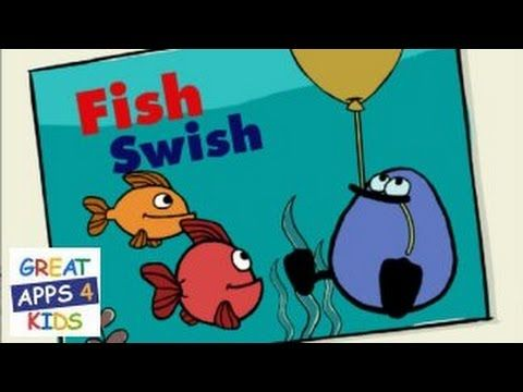 Peep Fish Swish | Free Counting App for Toddlers