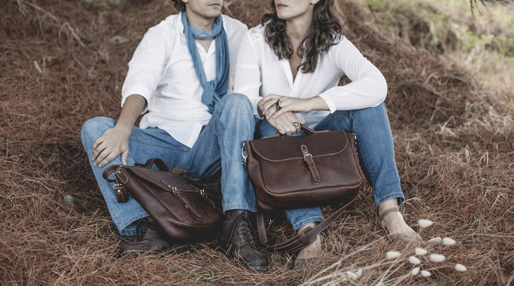 Handmade Leather Satchel & Messenger  www,alexandmarla.com