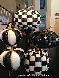 Making MacKenzie-Childs Pumpkins
