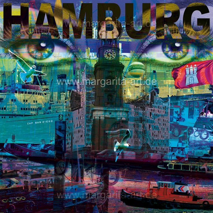 7 best hamburg collagen images on pinterest collagen hamburg and art designs. Black Bedroom Furniture Sets. Home Design Ideas