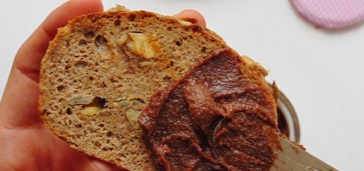 Cómo hacer nutella casera sin azúcar   Crema de avellanas y cacao
