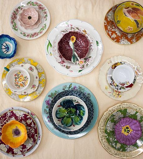 De louça nova no #BlogPitadas: Flores por todos os lados