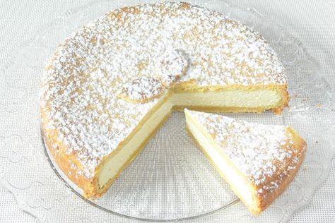 Křehký tvarohový koláč