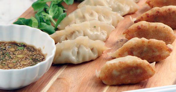 Japansk gyoza - hemgjorda dumplings