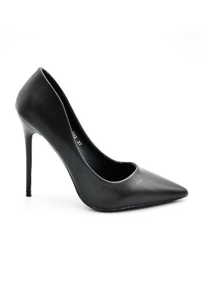 Scarpa con tacco alto nera