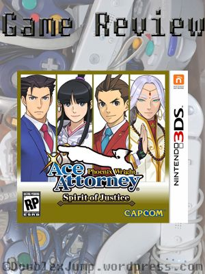 Title: Phoenix Wright Ace Attorney: Spirit of Justice Company: Nintendo, Capcom Console: Nintendo 3DS Release Date: June 9, 2016 How we got the game: We bought it. Ever since we discovered Trials a…