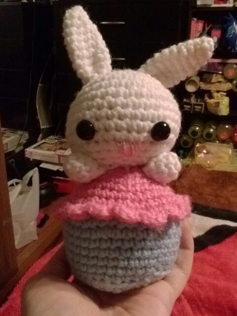 Amigurumi Cupcake Bunny : 17 Best images about My Crocheting Creations! on Pinterest ...