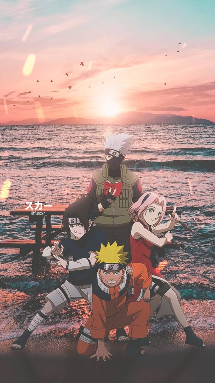 Download Naruto Team 7 Wallpaper By Iscxr Ae Free On Zedge Now Browse Millions Of Popular Aesthetic W In 2021 Naruto Painting Naruto Wallpaper Naruto Uzumaki Art