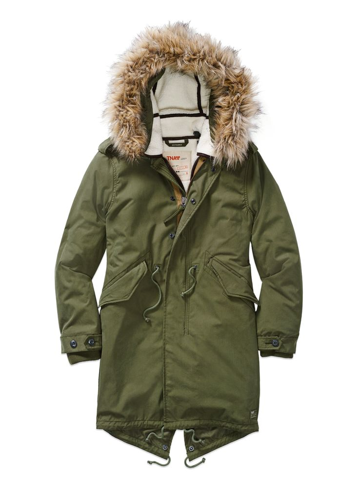 #refinery29 a 3-in-1 coat? i'm in. #need | TNA Britannia Parka, now $265, available at Aritzia.