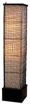 Kenroy 32250Brz Trellis Outdoor Floor Lamp - transitional - outdoor lighting - Lighting Front