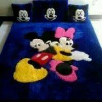 karpet mickey & minie mouse