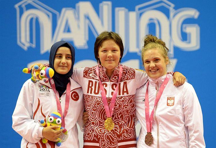 2. Yaz Gençlik Olimpiyatları'nda yarışan Milli güreşçi Tuğba Kılıç, gümüş madalyanın sahibi oldu.
