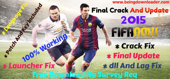 Fifa 15 PC Game Latest Crack Fix And Update Free Download 2015
