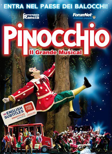 Recensione Pinocchio il Grande Musical al Tetaro della Luna.