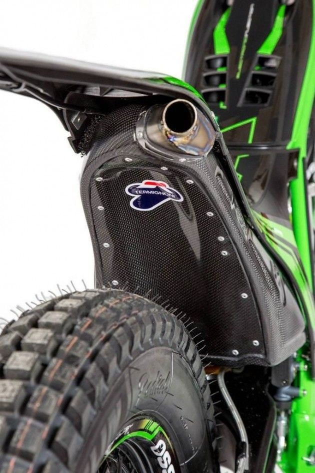 Trial Bike Ossa Factory R300 Silencer