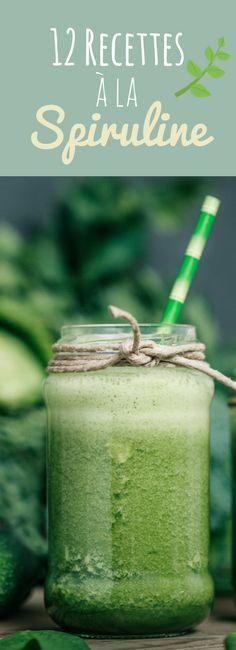 12 recettes faciles à la spiruline, une algue aux multiples vertus !