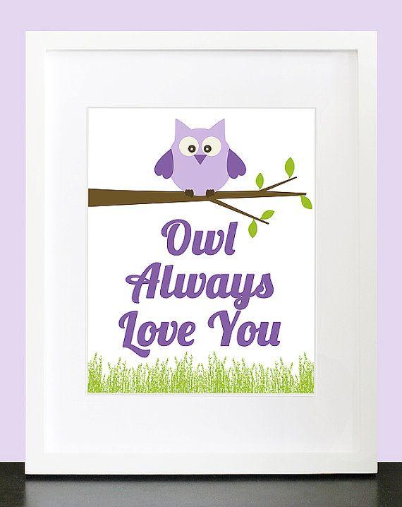 Creepy Owl loveWall Art, Crafts Ideas, Creepy Owls, Gift Ideas, Children Wall, Baby Ideas, Room Ideas, Art Children, Baby Nurseries