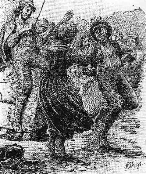 Tatere eller rakkere I mange af Vestjyllands magre egne levede der i 16–1800- tallet de såkaldte tatere, natmandsfolk, skøjere eller rakkere.  Taterne og rakkere var kendt som mørke folk, der tiggede og  lugtede. De tog sig også af ubehageligt arbejde som partering af  døde dyr og bliklodning, deraf den særlige lugt. Man mente tidligere, at alle tatere og rakkere var sigøjnere. Men  det har vist sig, at mange af dem faktisk var ægte jyder, som var  udstødt af datidens etablerede samfund.