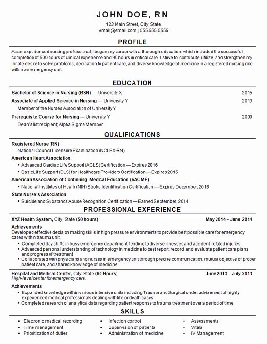 25 nursing clinical experience resume in 2020 with images
