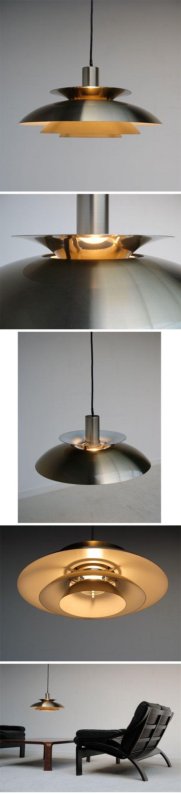 1960s,  Pendant, lamp, Fogh & Mørup, Jo Hammerborg, danish, poulsen