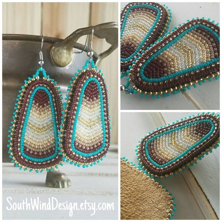 The other pair headed to their new home in Manitoba. I know they'll be well loved over there. #beadspiration #beadforlife #beadersofinstagram #beadwork #beadedearrings #nativebling #theprocess #beadersanonymous #makersgonnamake #madeinlongbeach #madeinthelbc #picoftheday #etsyseller