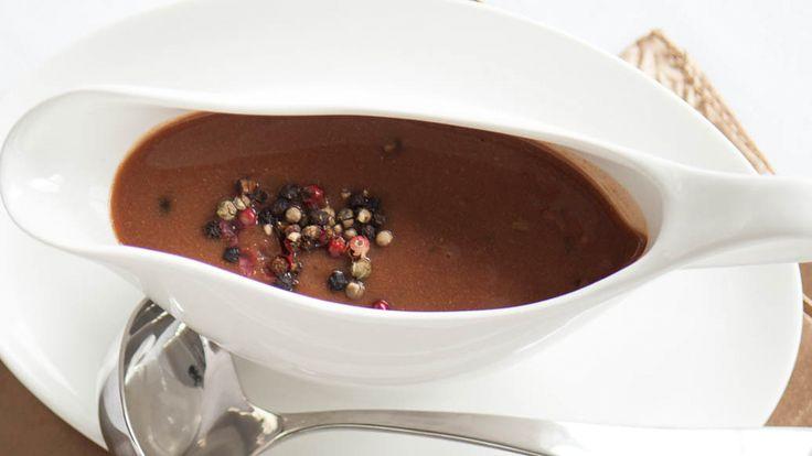 Red Wine Peppercorn Sauce