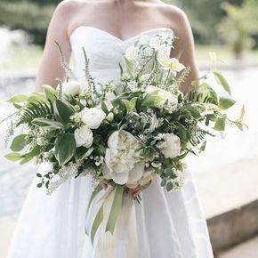 Queen Anne's Lace Wedding Flower Arrangements
