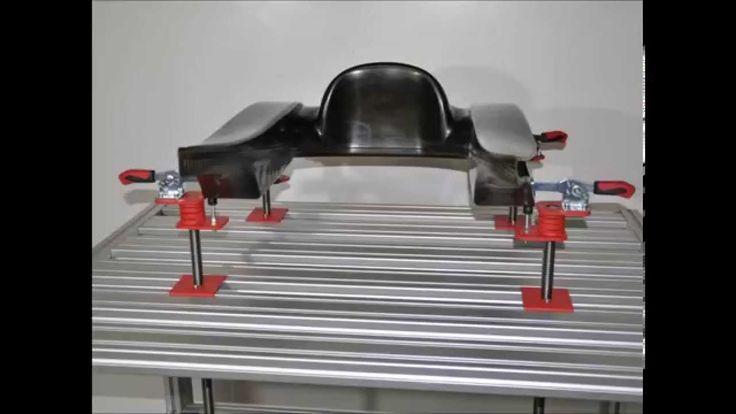 Arbeitsplatzsysteme 1 - carbon Systembau Anlagenbau Racing Rennsport Spannsysteme Schnellspanntisch Vorrichtungsbau , Schnellspanntisch, Ingolstadt , Spannen , Technik