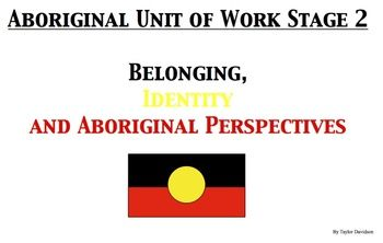 Aboriginal lessons Stage 2. 3 lessons (relating to belonging, identity, Aboriginal perspectives) A rational for implementing these teaching strategies and learning outcomes, relating to Vygotsky's Zone of Proximal Develop and higher order thinking.