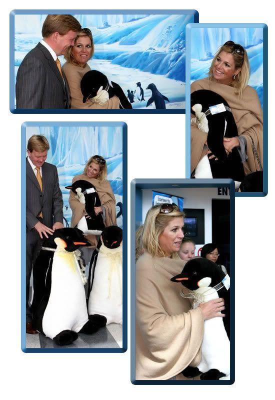 het Koninklijk paar in Antartica (NL)