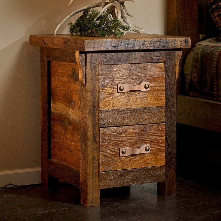 This Log Nightstand Will Look Beautiful In Your Home, Lodge, Log Cabin, Or  Country Cottage. Visit Us Online Or Call For More Log Furniture.