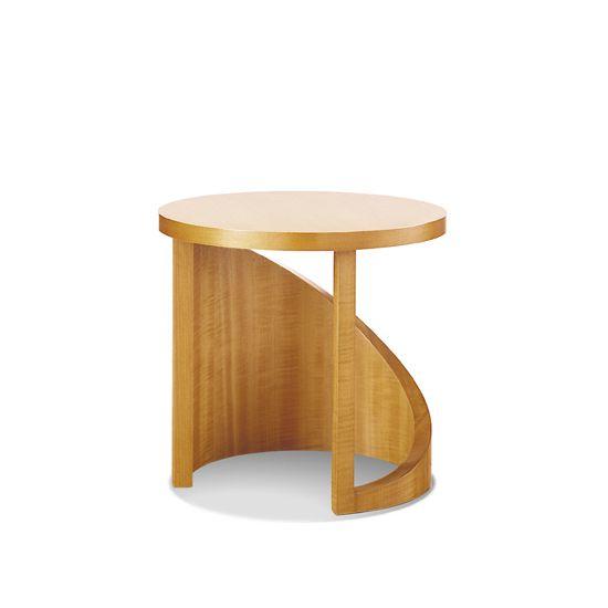 Bernhardt Design Wood Wave Table