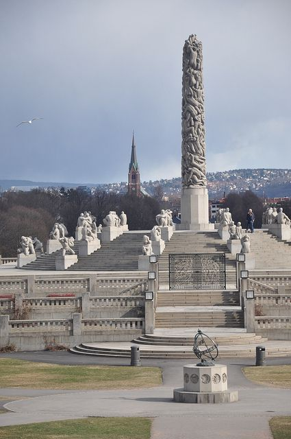 Vigelandsparken à Oslo, Norway