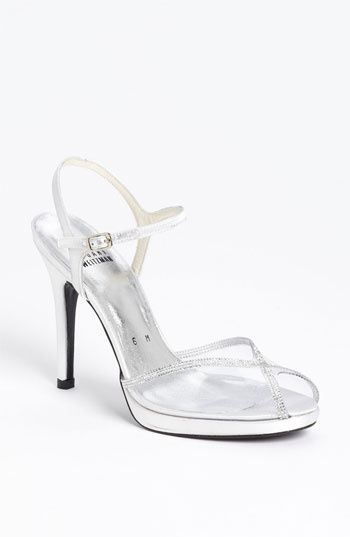 Stuart Weitzman Clarinet Sandal Available At Nordstrom High SandalsWedding ShoesWedding