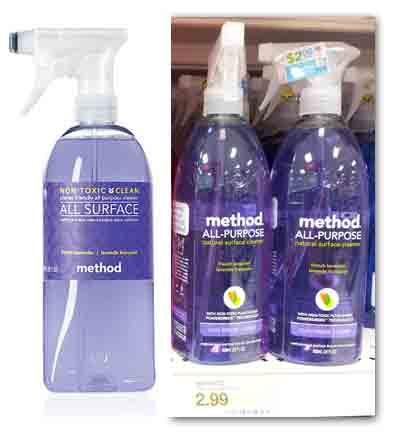 Method Cleaners, Only $0.99 at Target!