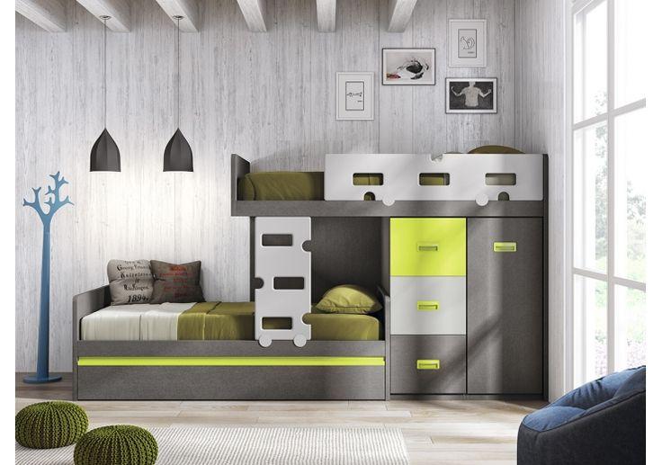 decoracion de cuartos para 2 niños de 8 a 12 años - Google Search