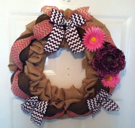 Hey, I found this really awesome Etsy listing at https://www.etsy.com/listing/222434861/on-sale-spring-burlap-wreath-summer