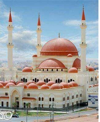 Sulaiman al Rajhi masjid in Hail - Saudi Arabia