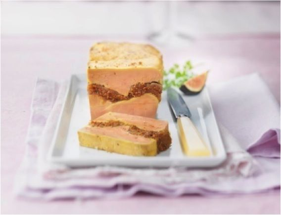 Terrine de foie gras aux figues et au Muscat de Rivesaltes | Montfort