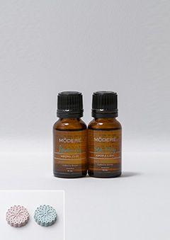 リラックスアロマセット | どこでもスグに芳香浴を楽しめるアロマストーン付の個数限定セット。
