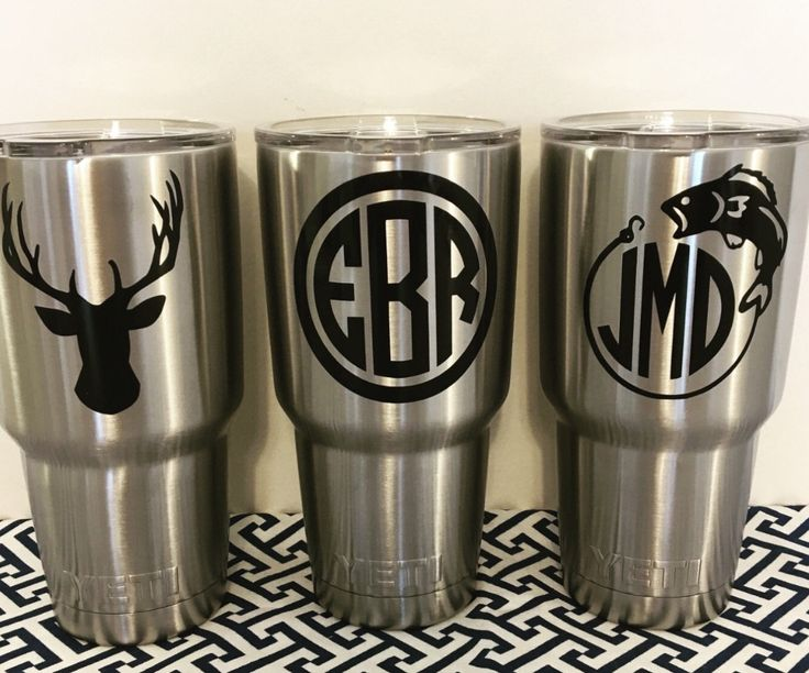 Best Cup Decals Images On Pinterest Yeti Decals Vinyl Decals - Cool custom vinyl decals for carsfish hook die cut vinyl decal pv projects pinterest fish