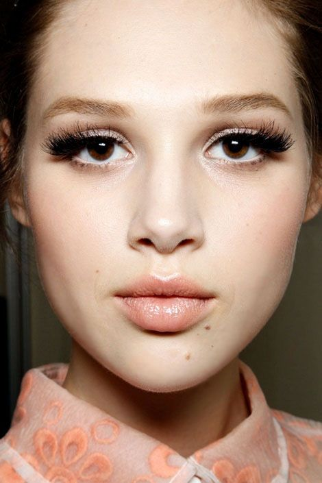 Trend: '60s-Inspired Cat-Eyes Pumped-up fringe and a generous coating of black eyeliner