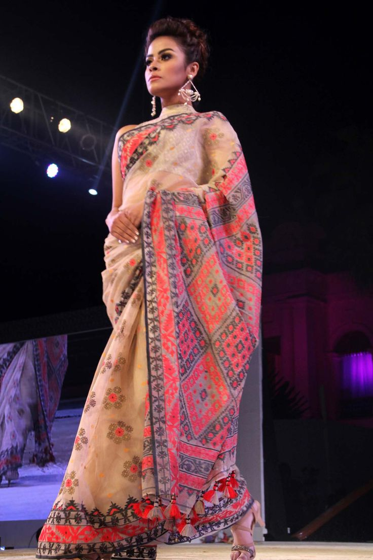 Beautiful MUSLIN saree