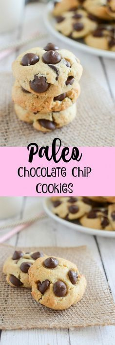 Paleo Chocolate Chip Cookies - the BEST paleo cookie recipe!