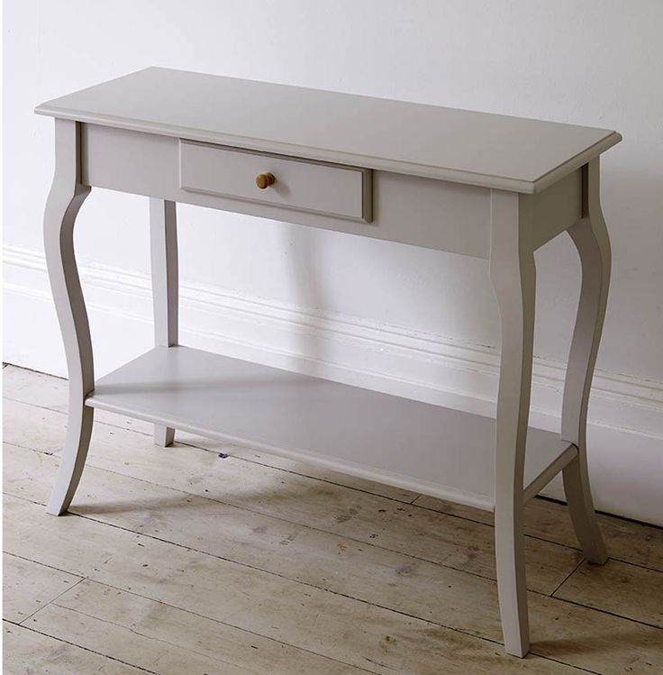 Slim Console Tables With Drawers