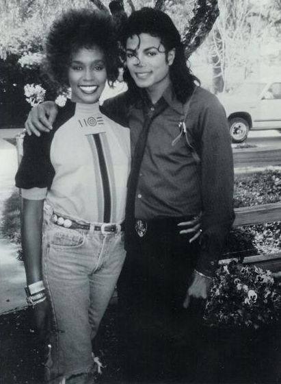 Michael Jackson and Whitney Houston: I love them both and may they R.I.P. ~B