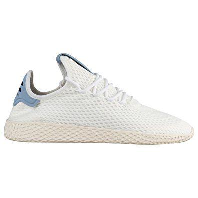 new product 1799c 361bb adidas Originals Men s Pharrell Williams Human Race White White Blue 10.5 D  US Review