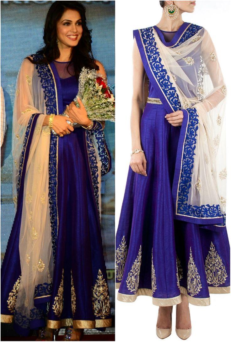 Replica of #ishakoppikar blue anarkali suit. To order: WhatsApp at +91 9873433685 or mail us at glammrass@gmail.com  #indianattire#sarees#glammrass#fashion#ethniccouture#bridal#suit#anarkali#exclusive#exquisite#lehengasaree#bride#bollywoodreplica#kurtis#designerwear#indianwear#dresses#gowns#ethnicwear#salwarkameez#georgette#indianwear#salwar#kameez#indiansuit#chanderi