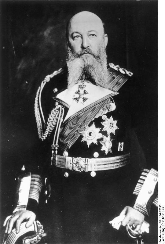 Großadmiral Alfred von Tirpitz's glorious beard appreciation masterpost.